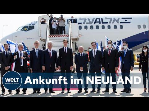 PREMIERE: Erster Direktflug Zwischen Israel Und Den Emiraten