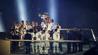 Bernabeu lights up as Real Madrid celebrates Champions League victory