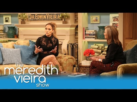 What Makes Jennifer Lopez Cry   The Meredith Vieira Show