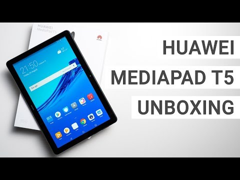 Huawei MediaPad T5 10 Unboxing & Hands On - YouTube