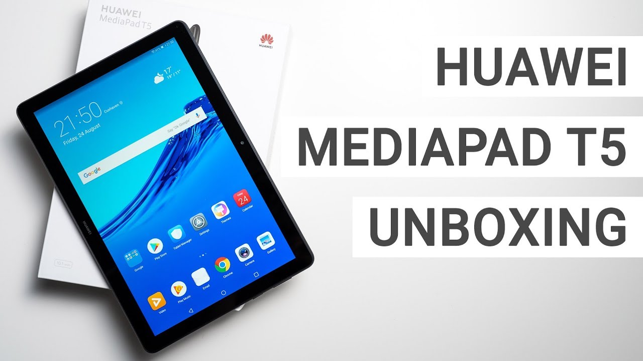 Huawei MediaPad T5 10 Unboxing & Hands On