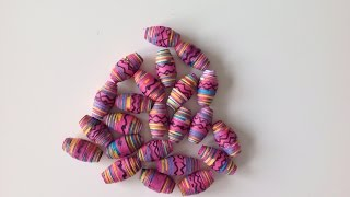 How To Design And Make Pretty Paper Beads - Diy Crafts Tutorial - Guidecentral