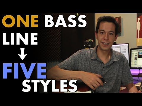 Writing Music Off Of A Bass Line in 5 Styles [SONGWRITING – ARRANGEMENT – MUSIC THEORY]]