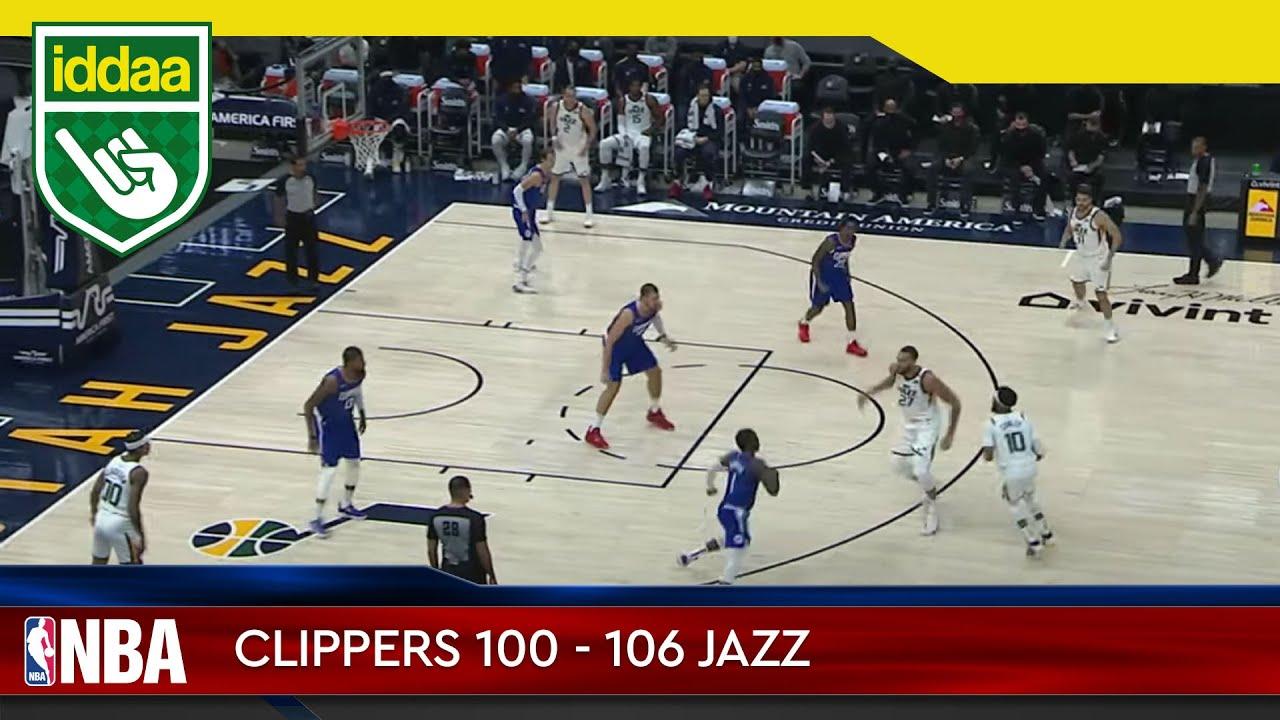 Los Angeles Clippers – Utah Jazz Maç Özeti