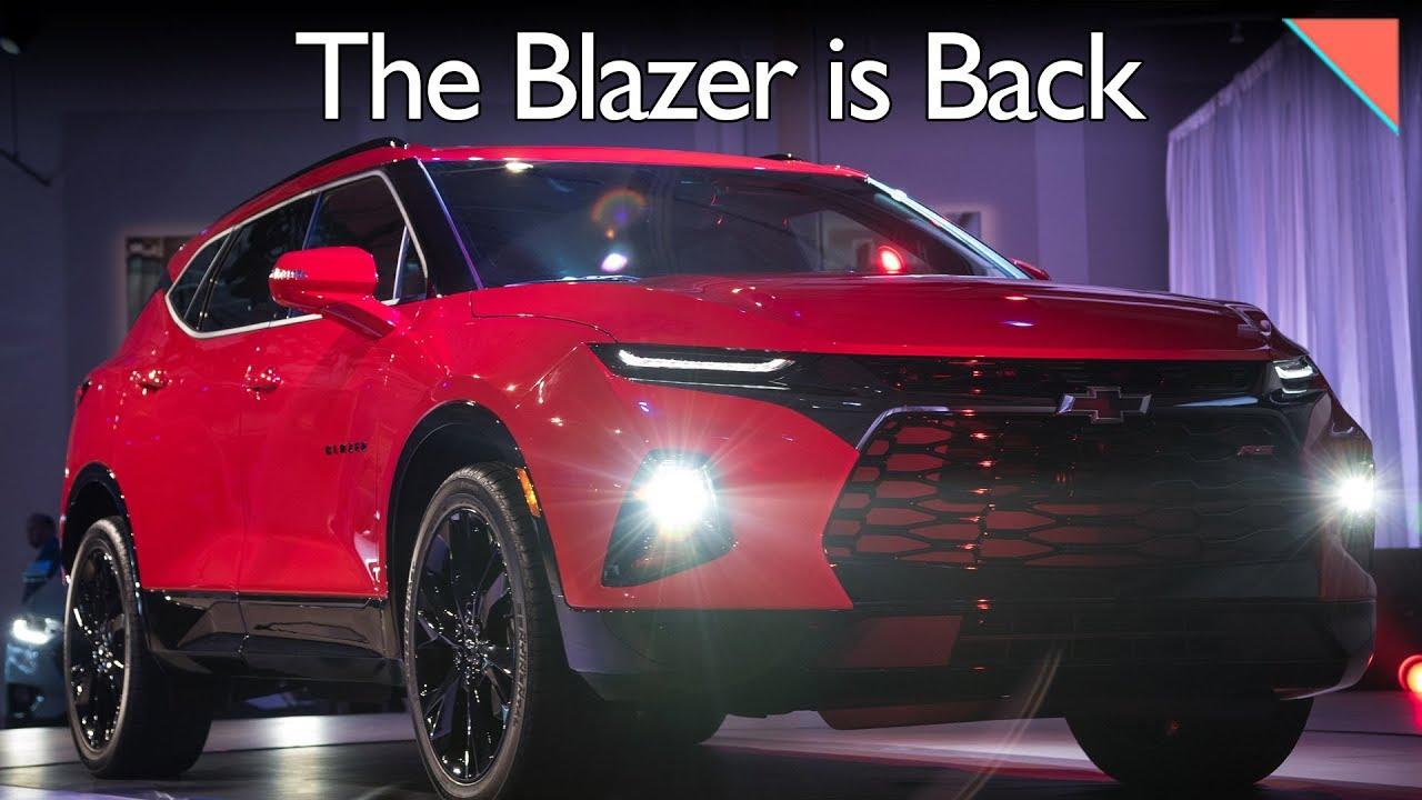 All-New Chevy Blazer, Volvo's Self-Parking Yacht ...