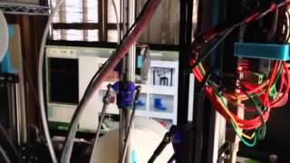 デルタ型3Dプリンタのプリント