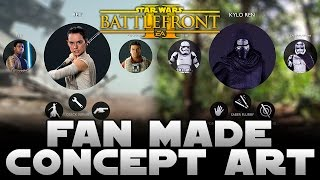 EA Star Wars Battlefront 2 Concept Art By Fans