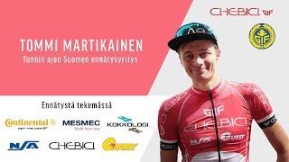 Tommi Martikainen - Tunnin ajon Suomen ennätysyritys 16.9.2018 Video
