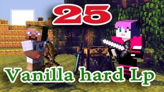ч.25 Minecraft Vanilla hard Lp - Ищем волков и в путь (Шапки из тыков)
