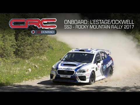 CRC Onboard: L'Estage and Ockwell - 2017 Rocky Mountain Rally - SS3