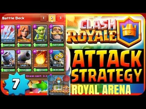 clash royale best deck for arena 6 no legendaries youtube