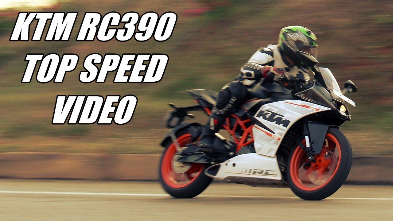 ktm rc390 top speed   iamabiker - youtube