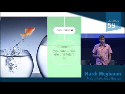 Keynote by Hardi Meybaum at Latitude59 - 2016