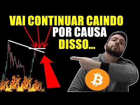 Bitcoin Vai Reverter A Baixa Exatamente Nesse Ponto