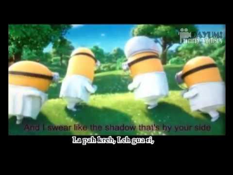 MINIONS - I Swear - Despicable Me 2 Movie (English Subtitles + Lyrics Version)