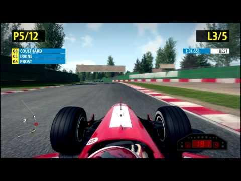 F1 2013 Classics - Eddie Irvine - Imola