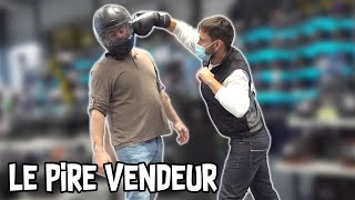 Il frappe un client - Le pire vendeur Prank - Les Inachevés