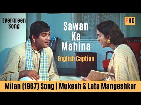 sawan-ka-mahina-with-english-subtitle---milan-(1967)-song-|-sunil-dutt,-nutan