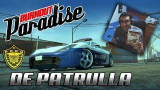 VAMOS DE PATRULLA!! | BURNOUT PARADISE ONLINE | PS3