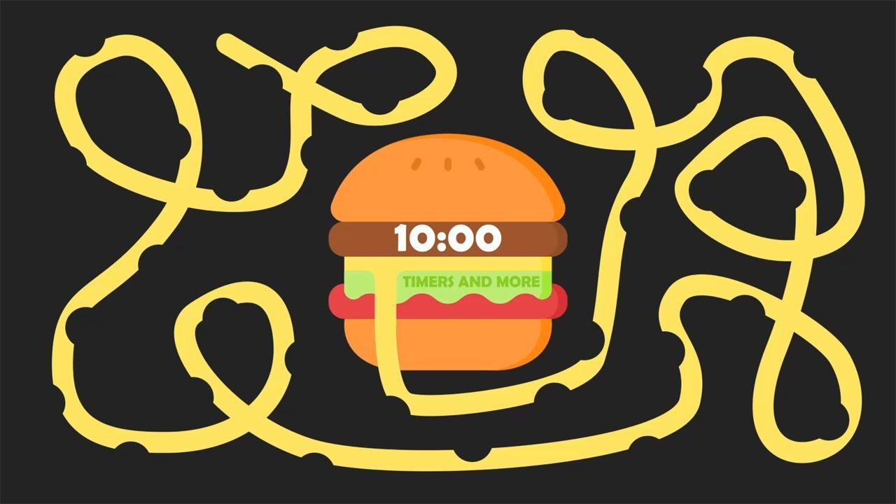 Download 10 Minute Burger 🍔 Bomb Timer [ GIANT BURGER EXPLOSION ]