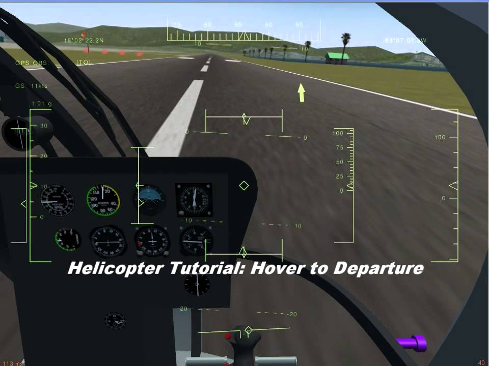 Howto:Fly a helicopter - FlightGear wiki