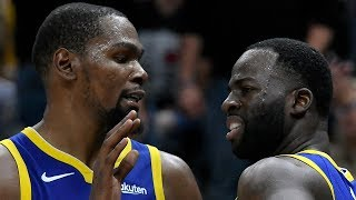 Kevin Durant CHALLENGED Draymond Green To Control His Emotions!