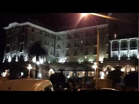Centro de  Piriapolis, Caminata Nocturna