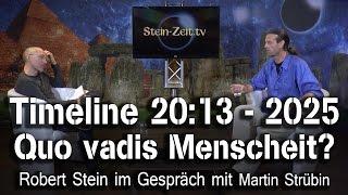 2025: Quo vadis Menschheit?  - Martin Strübin bei SteinZeit