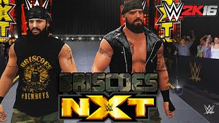 The Briscoe Brothers NXT Debut - WWE 2K16 (PS4)
