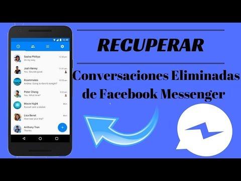 Recuperar Mensajes Borrados De Messenger, Facebook (SUSCRIBANSE).