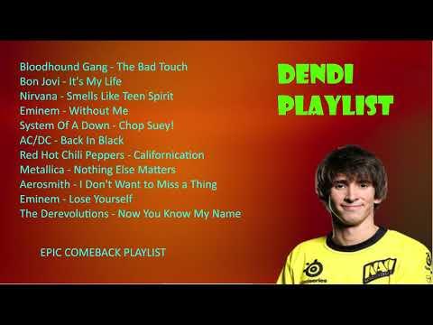 Dendi Stream Playlist 2 / Jan 2018 / EPIС COMEBACK SET