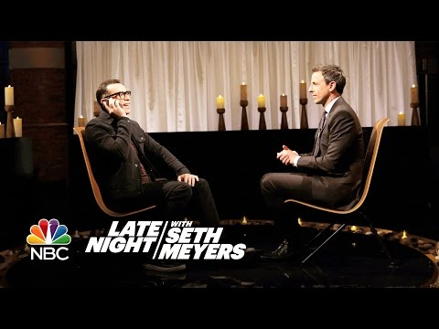 Fred Armisen And Seth Meyers Do Their Best To Clear The Air Before Thanksgiving With Some Odd Results