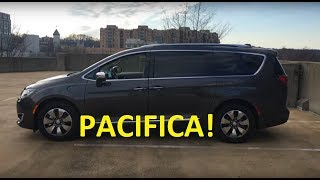 homepage tile video photo for 2018 Chrysler Pacifica Limited Hybrid