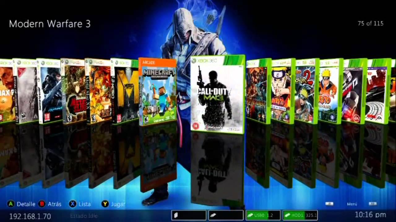 Dash Tipo Maquinero Gratis Para Renta De Xbox 360 Rgh Part 2