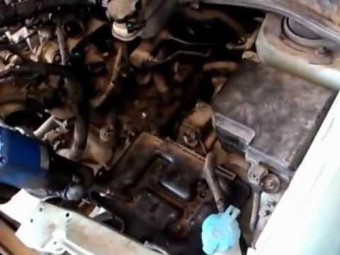Extraccion De Motor Hyundai Matrix Crdi