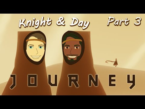 Let's Play Journey Gameplay Walkthrough Blind Part 3 - Journey into Beauty and Darkness