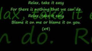 mika relax take it easy with lyrics