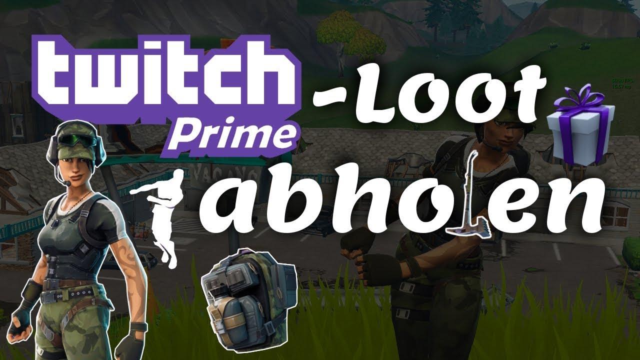 Twitch Prime-Loot GRATIS abholen: Fortnite Twitch Prime ...