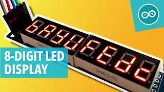 #21 Control MAX7219 8-Digit LED Display
