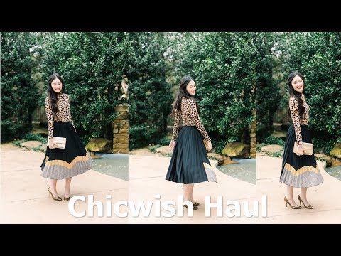 Black Friday Chicwish Unboxing And Try On Haul