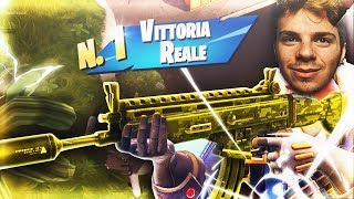 WITH THE NEW SCAR GOLD SILENZIED THE REAL VITTORY ONLY ACCOMPAGNARE - Fortnite Battle Royale