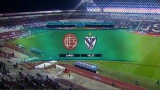 Fútbol en vivo Lanús - Vélez.  Fecha 28 1º División 2015 FPT
