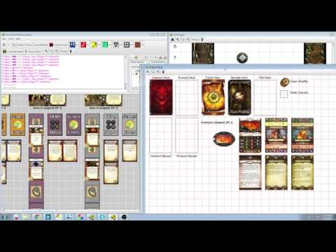 Descent 2nd Edition - Lair of the Wyrm (Gold Digger) - VASSAL