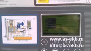 Гвинтовий компресор KRAFTMANN ALTAIR 65 робота в парі (ведучий-ведений)