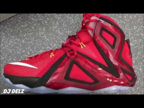 premium selection e43a6 53ce6 ... top quality nike lebron 12 elite team sneaker real review with djdelz  hotornot c857f 3cc0f