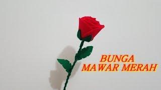 Download Video Cara Membuat Bunga Mawar Merah indah MP3 3GP MP4