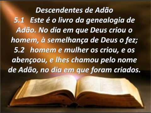 04 Biblia Em Slides Genesis Cap 4 Vers 17 26 E Cap 5