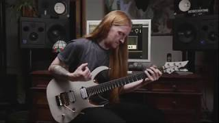 BLEED FROM WITHIN // BED OF SNAKES (feat. NOLLY) // Goonzi // Carillion Guitars playthrough