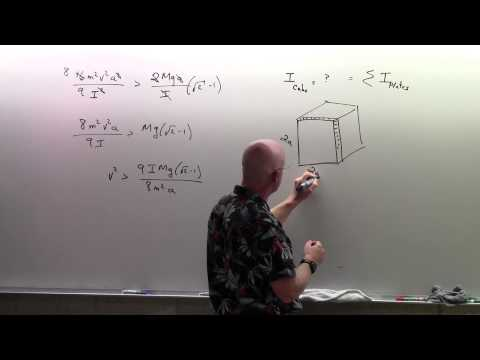 Conservation of Angular Momentum - Example Problems