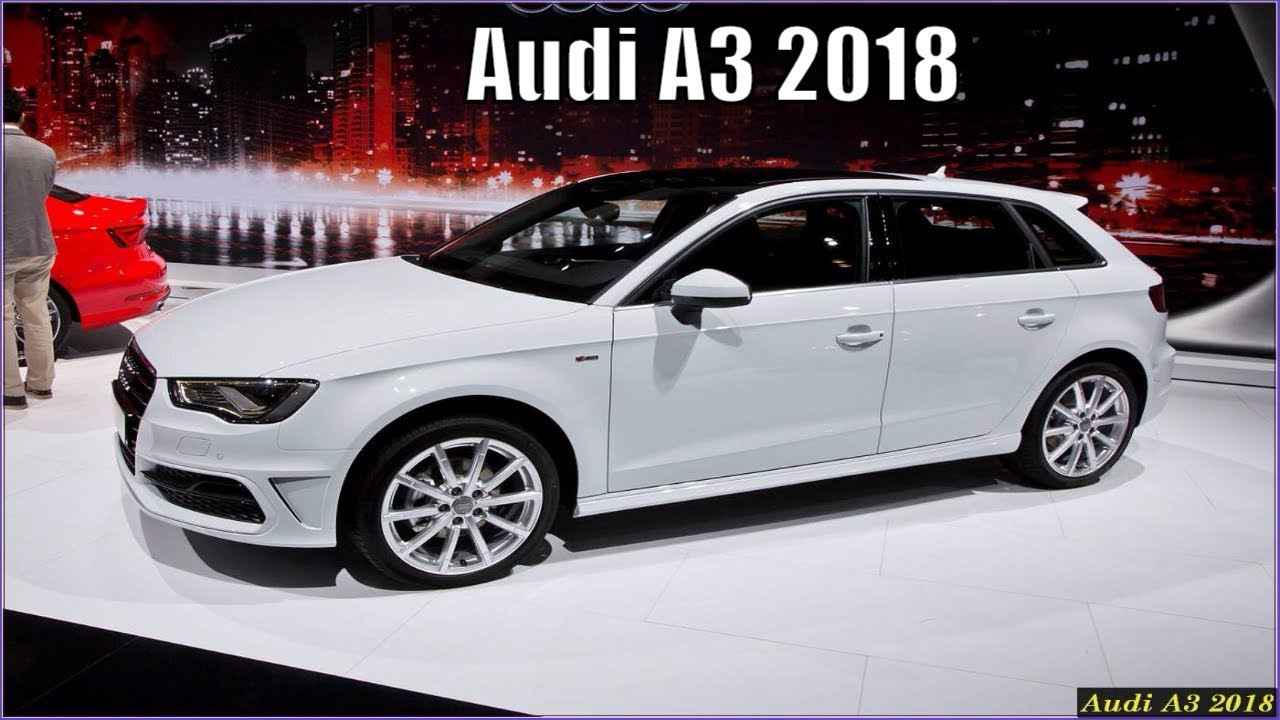 new audi a3 2018 sportback e tron design specs and review. Black Bedroom Furniture Sets. Home Design Ideas